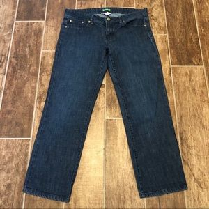 LILLY PULITZER Palm Beach Fit Crop JEANS 8